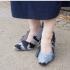 Kakva glupost! Ljudi su se iznenadili radi ove japanke koja se šetala u cipelama od goluba